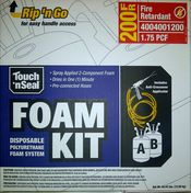 Touch 'n Seal 200 Fire Retardant Foam
