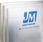 JM AP Foil Faced Polyiso Foam Sheathing